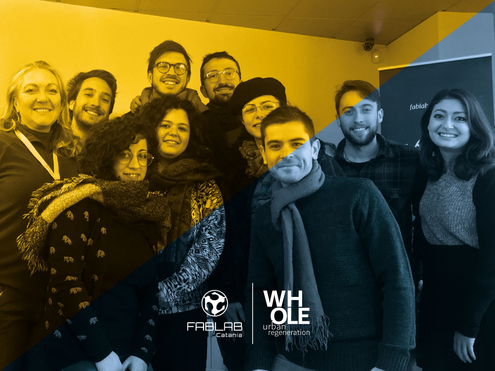 Whole-Urban Regeneration & Fablab Catania